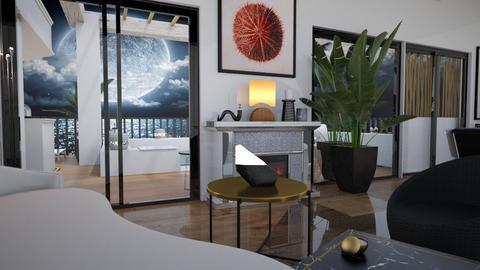 Rooftop Terrace Split2 - Living room  - by rechnaya