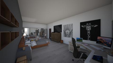 HABITACION - Bedroom  - by camilaosuna