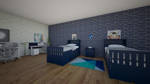 boypawer - Bedroom - by Diljin3522