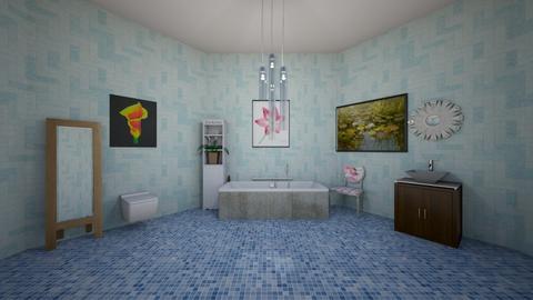 Lily Pond Bathroom - Bathroom - by kasjdg