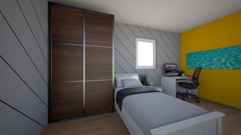 Teen Modern Bedroom  - Modern - Bedroom  - by KM9Design