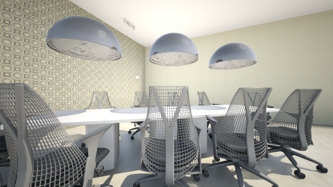 Sala de Reuniones - Minimal - Office  - by Jey