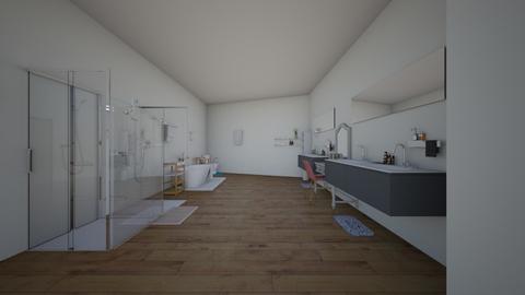 bathroom  - Modern - Bathroom  - by saranda_b
