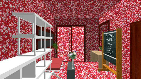 red hotel - Modern - Office  - by kincso12