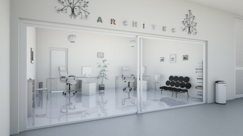 architec salon - Office  - by Magdalena ER