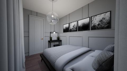 shoolproject - Bedroom  - by agata9031