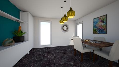 prototipo comedor - Modern - Living room  - by grachu