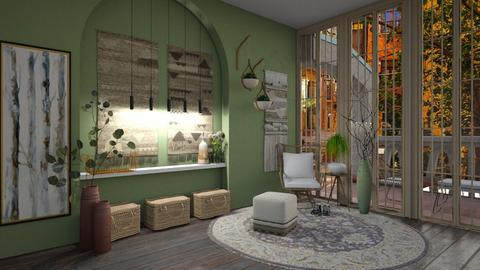 Botanical Daydreams - Country - Living room  - by evabarrett
