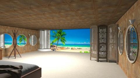 Beach house - Classic - Living room  - by Tuubz