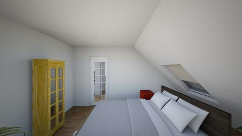 Plan poddasza 2 - Living room  - by gabrielasiemiaszko