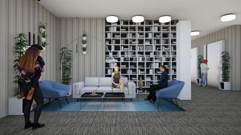 Lobby design by Yaaras2   - by yaara shemesh