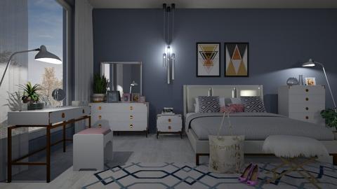 M_ Melrose night - Modern - Bedroom  - by milyca8