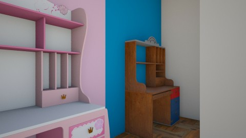 Pirates and Princesses - Modern - Kids room  - by love Tully love