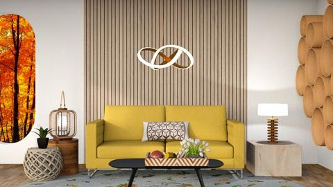 Beehouse - Living room  - by maribeiro