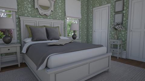 Green - Bedroom  - by Tuija