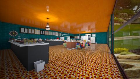 Kitchen  - Modern - Kitchen - by Ravina_9069