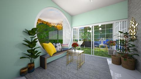Sunny spring space - Living room  - by Meghan White