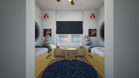 Spaceship Playhouse Nook - Kids room  - by SammyJPili