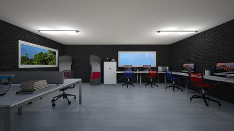 Work space - Office  - by Noa Jones
