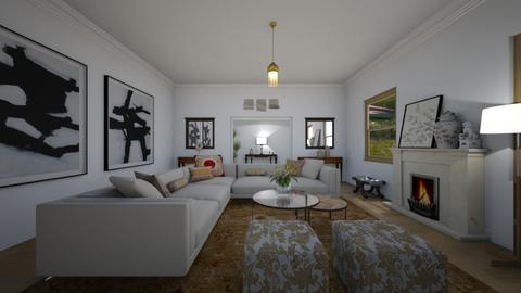 Sectional  - Living room - by kasturgill