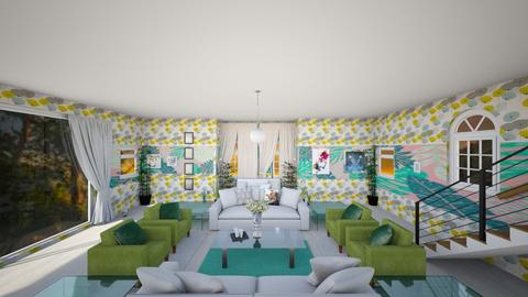 Earth - Global - Living room - by Ayayako