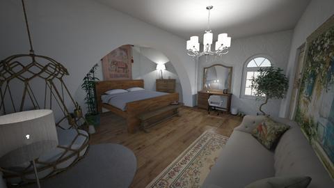 bedroom - Vintage - by laurenisstinky