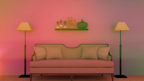 Cozy - Living room  - by Jahsoftball_
