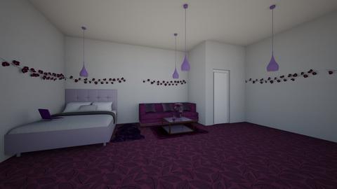 lazy purple room - by wassp