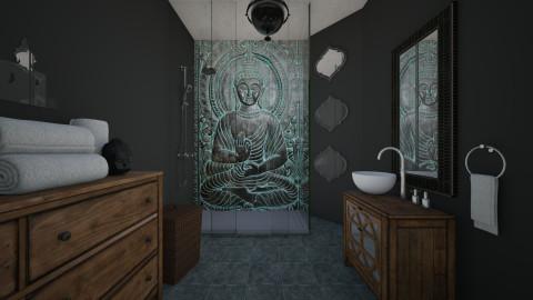 B - Bathroom  - by RonRon