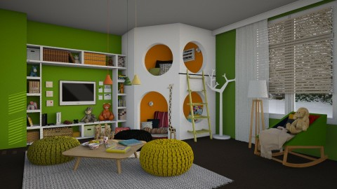 Colours - Modern - Kids room - by katarina_petakovi