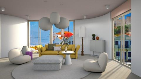 Soft But In Colour - Modern - Living room  - by 3rdfloor