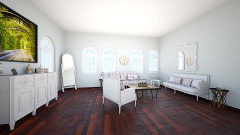 Living room - Vintage - Living room - by Lillie Gardner