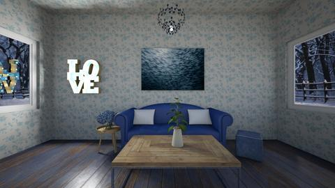 B the great planner - Living room  - by JF the roomstyler