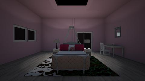 sweet pink  - Bedroom  - by AATHEDANCER