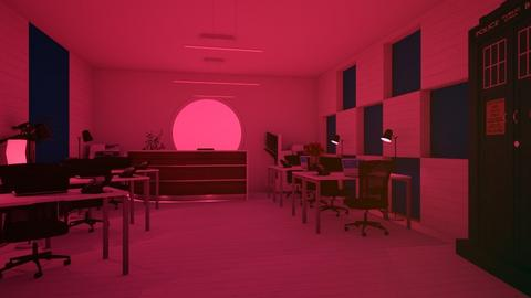 Blurry Office - Office  - by matina1976