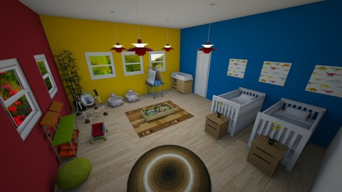 Chidrens Nursery - Classic - Kids room  - by millerfam