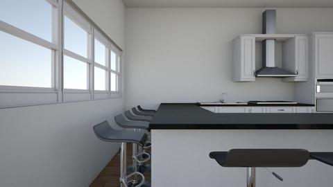 kitchen layout - Kitchen  - by Kate1234Tharpe
