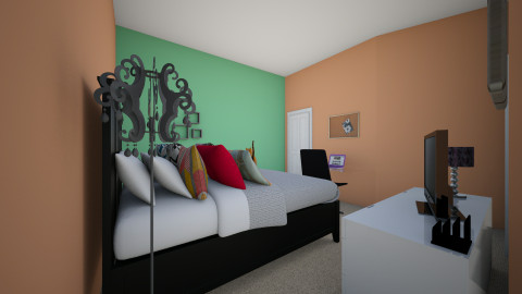 paiges room - Glamour - by Paige Wendling