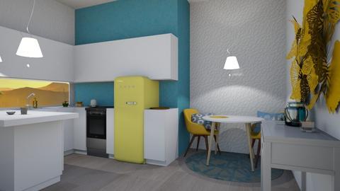 Playful Kitchen - Modern - Kitchen - by kaylani