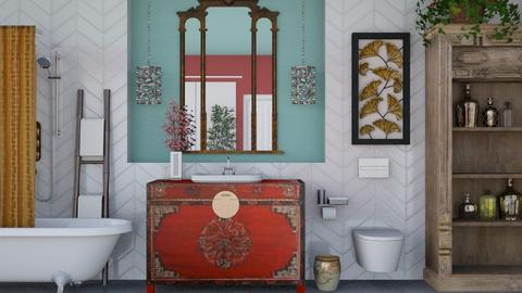 Eclectic Bathroom - Eclectic - Bathroom  - by jjp513