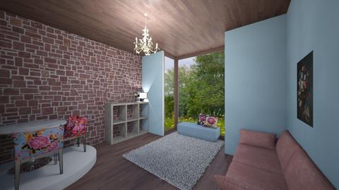 FLORAL LIVINGROOM by ttia - Living room  - by ttiavlc