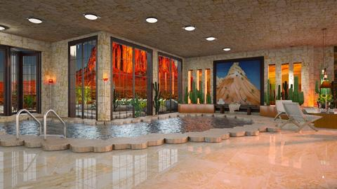 New Mexico OKeefe pool - by ZsuzsannaCs