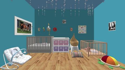 babys room - Classic - Kids room  - by elizabethkivett