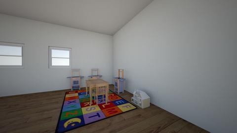 School Area - Kids room - by SophiaValinotti