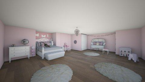 Cute girl room - Modern - Kids room  - by Demiana Acis