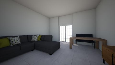 Wohnzimmer - Living room  - by barhil0815