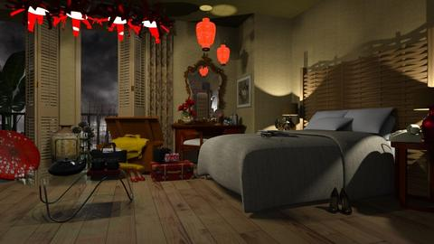 Miss Taro_s Bedroom - Bedroom  - by LuzMa HL