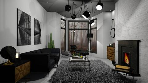 Black C - Global - Living room - by Rose Hdz