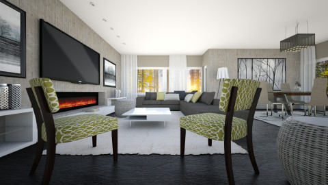 Naturals Living - Modern - Living room  - by channing4