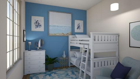 sailaway - Kids room - by dena15